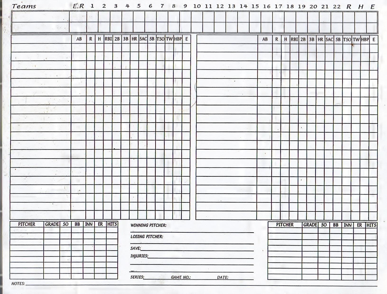 Zangari's South APBA Baseball League